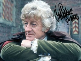* Jon Pertwee Signed Photo 8X10 Rp Autographed Doctor Who 1970'S - $19.99