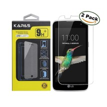 LG K7/Tribute 5 - Screen Protector Kapas [2 Pack] Tempered Glass Screen - $9.46