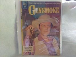 Gunsmoke, Dell Comic Book, June July 1961, Sheriff Matt Dillon - $2.25