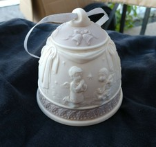 "Lladro Porcelain Bell With Children Handmade In Spain #285 3 1/2"" X 4"" - $9.41"