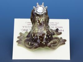 Birthstone Frog Prince Kissing April Diamond Miniatures by Hagen-Renaker image 4