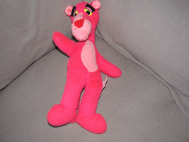 """Pink Panther Plush Stuffed Animal 1980 United Artists Mighty Star 15"""" Vtg - $28.21"""