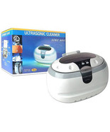 Sonic Wave  Ultrasonic Jewelry & Eyeglass Cleaner White/Gray - $49.45
