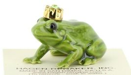 Birthstone Frog Prince August Simulated Peridot Miniatures by Hagen-Renaker image 8