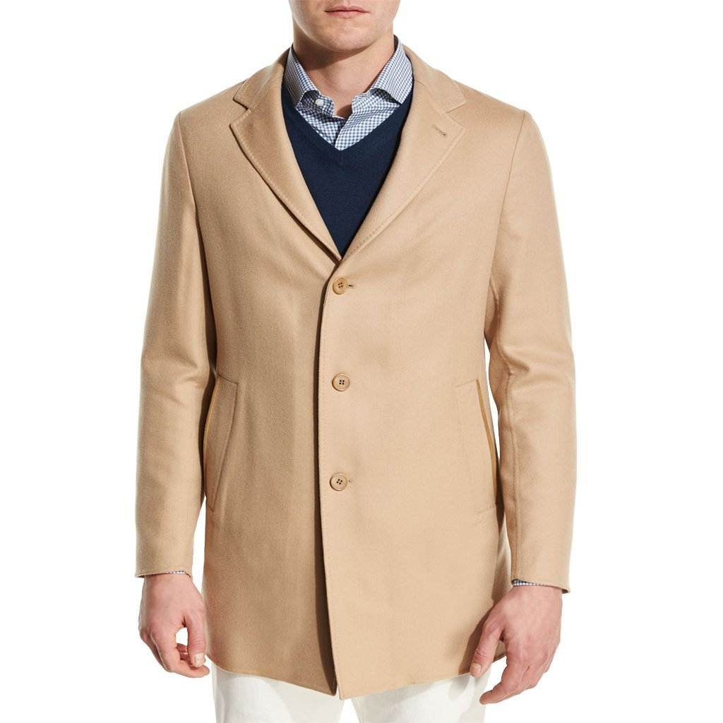 Lamb Skin Leather Men Leather Blazer