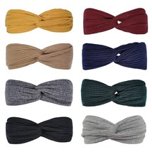 Headbands for Women Knotted Boho Stretchy Hair Bands for Girls Criss Cro... - $29.99