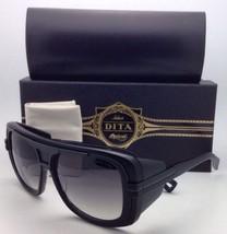 Neu Dita Sonnenbrille Titanium DRX 2032B 59 Schwarzer Rahmen/Grau Farbverlauf /
