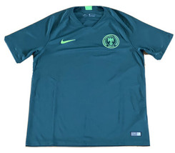NEW Nike Nigeria Super Eagles 2018 Green Away Soccer Jersey 893885-397 S... - $98.99