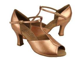 "Ladies' Latin Rhythm Salsa Signature S2802 Copper Nude Leather 2.5"" Heel... - $75.95"