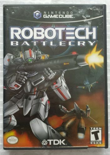 Primary image for ☆ Robotech Battlecry (Nintendo GameCube 2002) RARE Complete in Case Game Works ☆