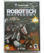 ☆ Robotech Battlecry (Nintendo GameCube 2002) RARE Complete in Case Game Works ☆