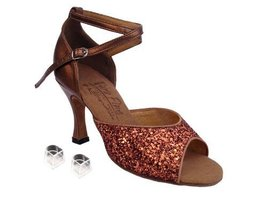 "Ladies Women Ballroom Dance Shoes Very Fine EKS9220 Signature 3"" Heel with He... - $75.95"