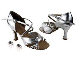 "Ladies Women Ballroom Dance Shoes Very Fine EKS92305 Signature 2.5"" Heel with... - $75.95"