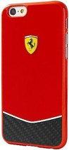 FERRARI Cell Phone Case for iPhone 6/6S Plus - Red - $44.99