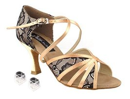 Ladies Women Ballroom Dance Shoes Very Fine Competitive Dancer EKCD3021 ... - $79.95