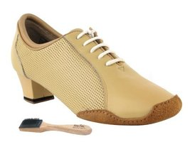 Very Fine Ladies Women Ballroom Dance Shoes EKCD1119 Split Sole Nude Lea... - $79.95