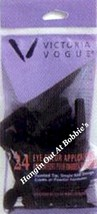 VICTORIA VOGUE Eye Color Shadow Applicators 24 Ct. Bag #924 New In Package - $3.29