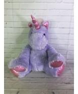 Best Made Toys Purple Pink Sparkle Eyes Unicorn Large Stuffed Animal Plu... - $39.59