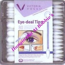 Victoria Vogue Eye-Deal Tips Two-Way Style Applicators #500 New In Box - €2,54 EUR