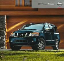 2010 Nissan ARMADA sales brochure catalog US 10 Platinum Titanium - $9.00