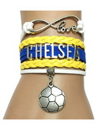 Arsenal, Chelsea, Liverpool, Manchester Soccer Infinity Bracelets - $6.99