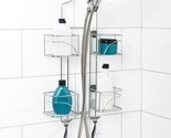 Expandable shower caddy shelf organize cup thumb155 crop