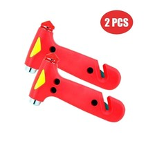 Emergency Escape Tool Auto Car Window Glass Hammer Breaker and Seat Belt... - $18.61