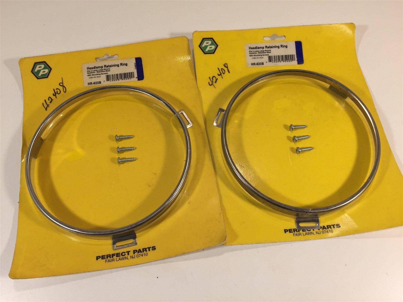 Perfect Parts 42408 Headlight Headlamp Ring HR-623B