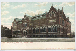 1900s BOSTON Mass. ART MUSEUM of Fine ARTS Massachusetts COPLEY SQUARE P... - $5.95