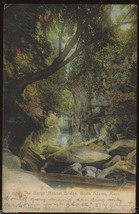 1909 NORTH ADAMS Postcard The Gorge Natural Bridge Stream Woods MASSACHU... - $7.00