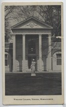 1933 WHEATON College HEBE Statue NORTON Massachusetts MA Mass. POSTCARD - $4.95