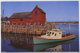 CAPE ANN Rockport MA Bearskin Neck FAIR SUSAN Lobster BOUYS Boat HARBOR ... - $3.95