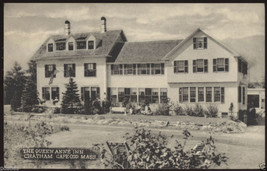1952 CHATHAM Mass. The Queen Anne Inn CAPE COD Massachusetts MA POSTCARD - $5.95