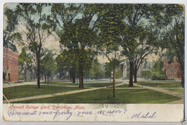 1907 HARVARD YARD College UNIVERSITY Cambridge MA Massachusetts POSTCARD... - $5.95