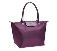Longchamp Le Pliage Neo Large Tote Bag Bilberry 1899578645 Authentic - $145.00