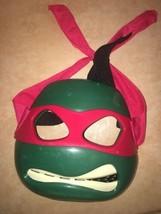 Teenage Mutant Ninja Turtles 2013 Raphael Mask Playmates Toys Costume Dr... - $13.37