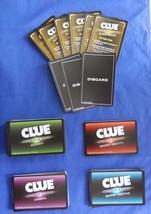 Clue Secrets & Spies Replacement Secret Identity Mission Meeting Activit... - $9.89