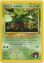 Erika's Oddish 47/132 Uncommon Gym Heroes Pokemon Card
