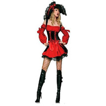 Hot Sexy Womens Pirates Costume Halloween Caribbean Captain Cosplay Fanc... - $34.99