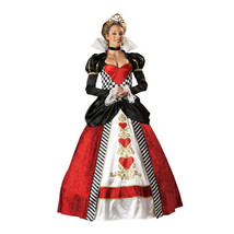 Halloween Queen Garment Court Game Uniform Crown Stage Costume - $74.99