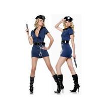 Sexy Lingerie Underwear Halloween Garment Dark Blue Policewoman  M - $38.99