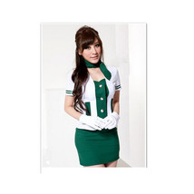 Sweet Air Angel Airline Stewardess Air Hostess Uniform Dress - $38.99
