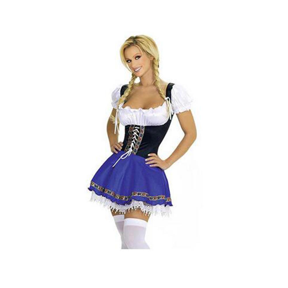 Costume Cosplay European Game Uniform Sexy Maidservant Garment M