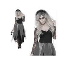 Halloween Zombie Ghost Bride Cosplay Specter Costume - $30.99