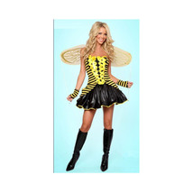 Sexy Uniform Cosplay Yellow with Wings Dress-up - $39.99