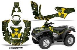 ATV Decal Graphics Kit Quad Wrap For Honda FourTrax Rincon 2006-2018 MLTDWN Y G - $168.25