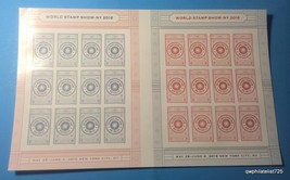 US World Stamp Show-NY 2016 Folio of 24 stamps, VF MNH ***Free Shipping*** - $20.05
