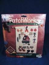 Bucilla's Patchworks Applique Projects Noah Soup Needle Craft  Kit 41144 Nip 13x7 - $10.88