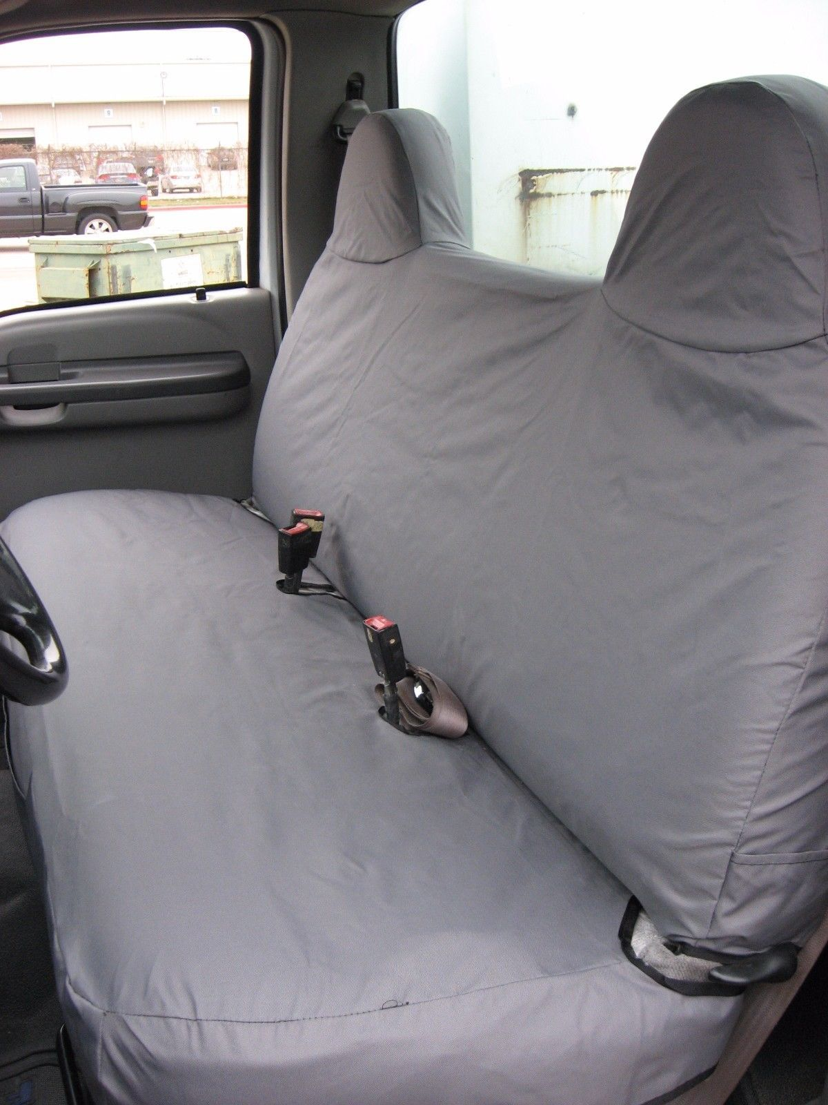 1999 2007 Ford F250 F550 Solid Bench Seat Custom Fit Seat