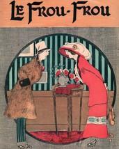 Le Frou Frou: Proper Couple By Table - 1912 - $12.82+